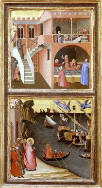 A.Lorenzetti, 2 Szenen mit Hl.Nikolaus von AKG  Images