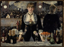 Edouard Manet, Bar in den Folies Bergere von AKG  Images