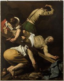 Caravaggio, Kreuzigung Petri von AKG  Images