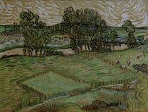 v.Gogh, Landschaft mit Bruecke ueber Oise by AKG  Images