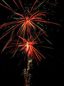Shooting Fireworks von Christopher Seufert