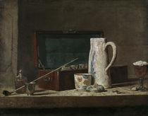 J.B.S.Chardin, Rauchnecessaire by AKG  Images