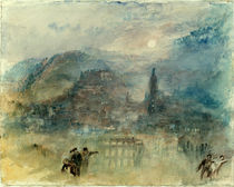 William Turner, Heidelberg, Mondlicht by AKG  Images