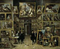 Teniers d.J., Leopold Wilhelm in Galerie von AKG  Images