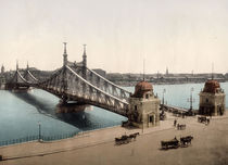 Budapest, Franz Josephs Bruecke / Photoch by AKG  Images