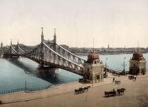 Budapest, Franz Josephs Bruecke / Photoch von AKG  Images
