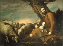 J.de Ribera, Jakob huetet Labans Herden von AKG  Images