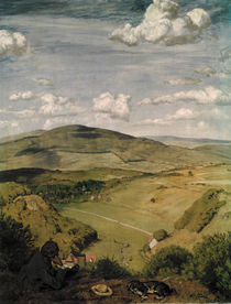 Hans Thoma, Blick ins Tal(Taunus)/1890 by AKG  Images