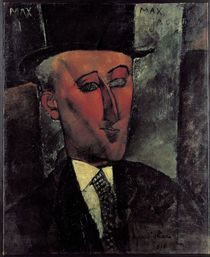 Max Jacob / Gem.v.Modigliani by AKG  Images