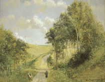 Camille Pissarro, Landschaft in Berneval by AKG  Images