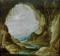 D.Teniers d.J., Blick aus einer Grotte von AKG  Images
