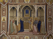 Giotto, Darbringung im Tempel / Assisi by AKG  Images