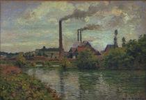 C.Pissarro, Die Fabrik in Pontoise von AKG  Images