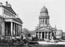 Berlin, Gendarmenmarkt /Foto um 1900 by AKG  Images