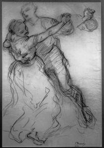 Ludwig Knaus, Tanzendes Paar von AKG  Images