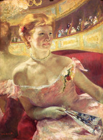 M.Cassatt, Dame in einer Loge von AKG  Images