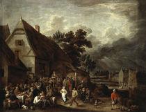 D.Teniers d.J., Grosse Dorfkirmes von AKG  Images