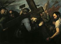 J.de Ribera, Kreuztragung by AKG  Images