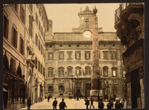 Rom, Piazza di Montecitorio / Photochrom by AKG  Images