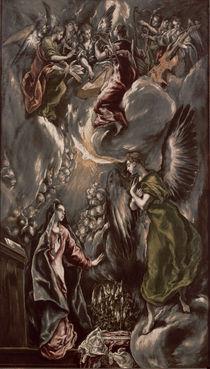 El Greco, Mariae Verkuendigung von AKG  Images