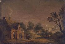 D.Teniers d.J., Mondscheinlandschaft by AKG  Images