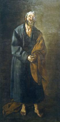 F. de Zurbaran, der Apostel Petrus von AKG  Images