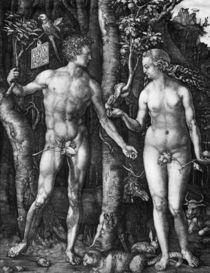 Duerer, Adam und Eva, Kupferstich by AKG  Images