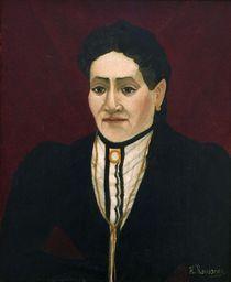 H.Rousseau, Portraet einer Frau von AKG  Images