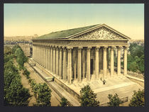 Paris, La Madeleine / Photochrom von AKG  Images