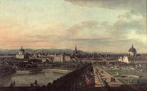 Wien vom Belvedere aus / Bellotto by AKG  Images