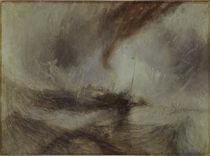 Turner, Schneesturm auf dem Meer/ 1841 von AKG  Images