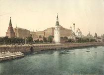 Moskau, Kreml / Photochrom um 1900 by AKG  Images
