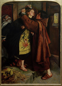 J.E.Millais, The Escape of a Heretic von AKG  Images