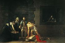 Caravaggio, Enthauptung Johannes d.T. von AKG  Images