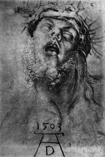 A.Duerer, Kopf des toten Christus von AKG  Images