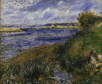 A.Renoir, Die Seine bei Champrosay by AKG  Images