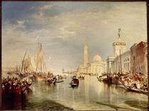 W. Turner, Dogana u. S. Giorgio Maggiore by AKG  Images