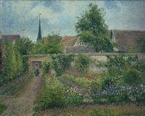 C.Pissarro, Gemuesegarten in Eragny von AKG  Images