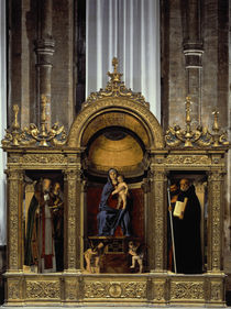 Giov.Bellini, Madonna mit Hlgen / Frari von AKG  Images