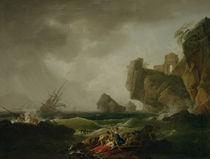 C.J.Vernet, Schiffbruch von AKG  Images