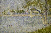 G.Seurat, Die Seine von der Grande Jatte von AKG  Images