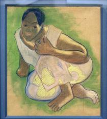 Gauguin/Studie zu: Wann heiratest Du? by AKG  Images
