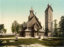 Krummhuebel (Riesengebirge), Stabkirche by AKG  Images
