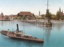 Konstanz, Hafen / Photochrom by AKG  Images