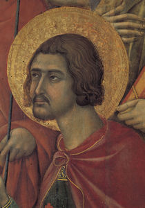 Duccio, Maesta, Hl.Victor von AKG  Images