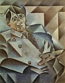 Pablo Picasso / Gemaelde von J.Gris, 1912 von AKG  Images