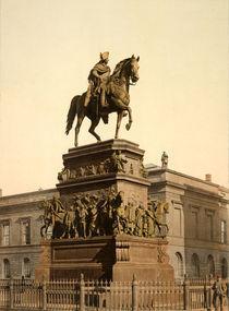 Berlin, Denkmal Friedrichs d.Gr. / Foto von AKG  Images