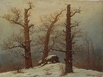 C.D.Friedrich, Huenengrab im Schnee by AKG  Images