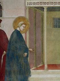 Giotto, Mann huldigt Franziskus, Det. von AKG  Images