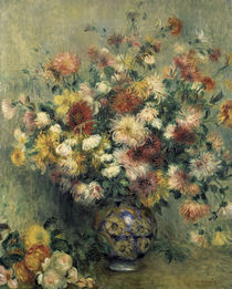 A.Renoir, Les Dahlias by AKG  Images